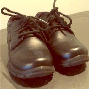 Boys black dress shoe